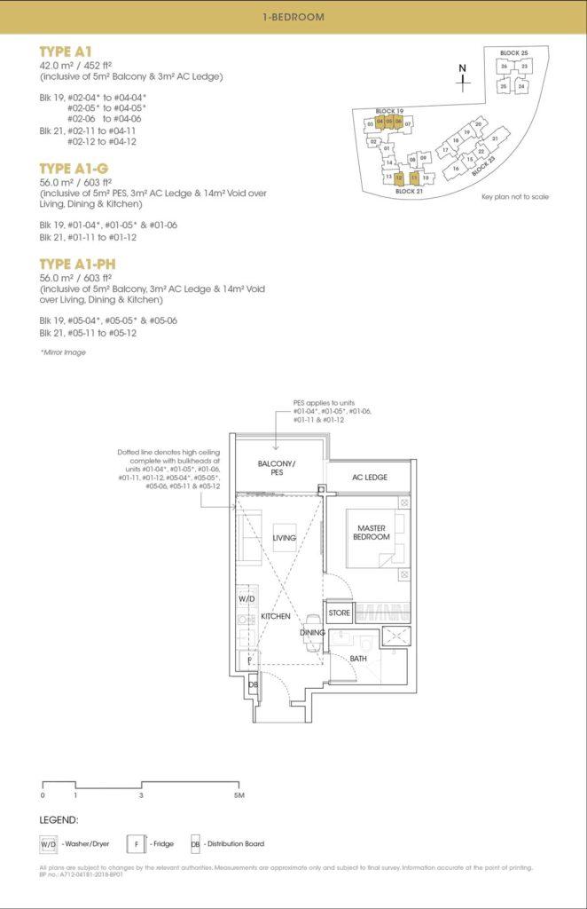The Antares Floor Plan Showflat 61009851 Singapore